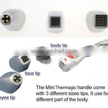 handheld fractional RF wrinkle remover face lifting machine with CE