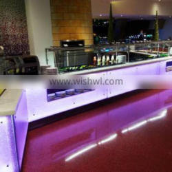 Potsdam advertising design led counter panel in store advertising store fixture