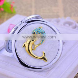 Dolphine Design Your Own Compact Mirror Big Makeup Mirror Portable Cosmetic Mirror