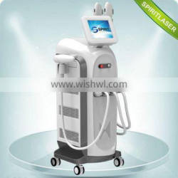 Powerful Movable Screen 3 in 1 Multi-function Machine CPC ipl skin pigmentation treatment 10HZ