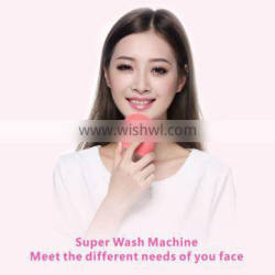 BPSK1068 electric facial cleansing brush FDA Approved silicone brush hair
