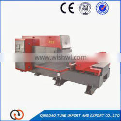 cnc turret punch press for stainless steel products making/cnc punching machine
