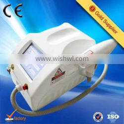 home use portable 1064nm 532nm single pulse q switched nd yag laser