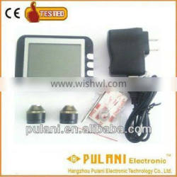 Wireless tpms with 2 external sensors tire pressure monitoring system for motorcycles Quality Choice