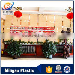 Easy install new design fireproof pvc interior decorative wall panels import china goods