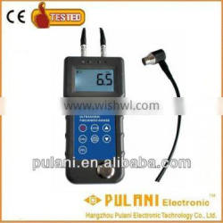 Automatic power off ultrasonic thickness measuring tester gauge