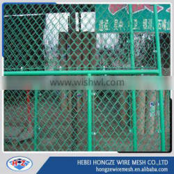 Decorative 6ft chain link fencing, plastic lattice fence