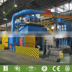Factory Driect Sale Trolley Type Shot Blasting Cleaning Machine