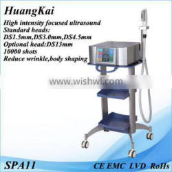 High Intensity Focused Ultrasound Skin Tightening System