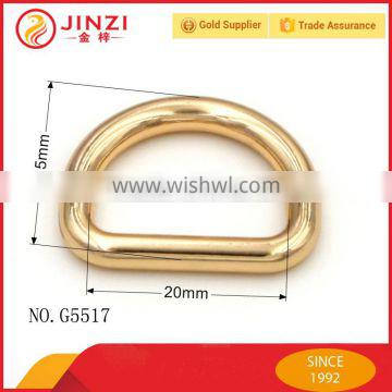 20mm Seamless Stainless D Ring Accessories