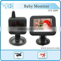 JVE-2009 New arrival 3.5 inch night vision baby monitor device security baby monitor RoHS FCC CE Approval
