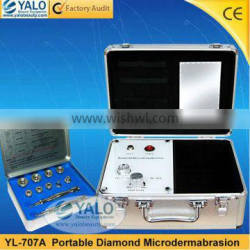 CE approved YL-707A microdermabrasion machine professional for skin exfoliator