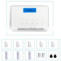 2016 High Quality Smart Home Security Wireless GSM Alarm System with IOS/Android APP control