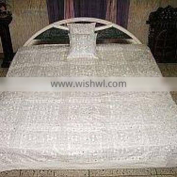 handmade indian embroidered bedspreads,bohemian embroidered bedspreads