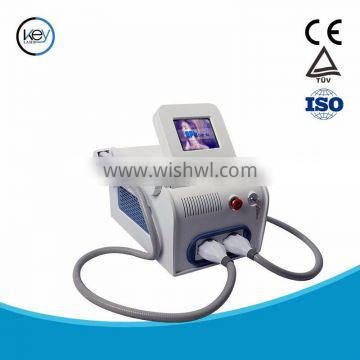 2016 top sale hair removal e-light ipl shr with two handles for promotion