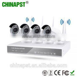 New Arrival Surveillance System 2.0MP Wifi IP Camera NVR Kit Security Camera PST-WIPK04CH