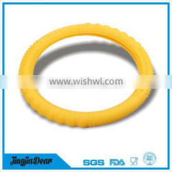 custom non-slip silicone car steering wheel cover