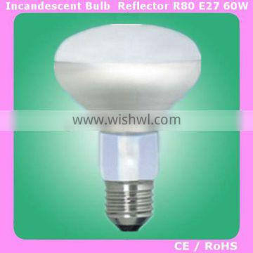 R80/R90 60W Reflector Frosted bulb lamp E27