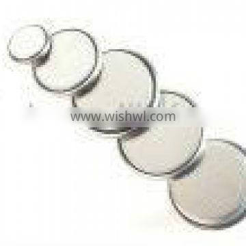 lithium button cell CR2032 watch battery