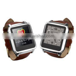 2014 price of smart watch phone,pedometer/heart rate measurement,a great partner for sports enthusiast