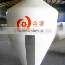 2015 Hot Selling!! High quality 1T silos/fiberglass silo /FRP poultry feed silo /grain silo for Pig/Poultry Farm