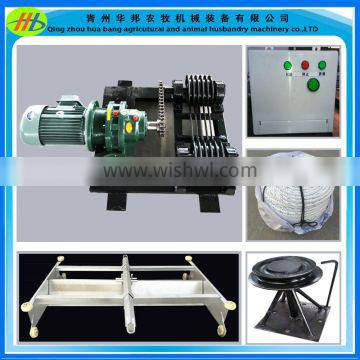 factory price poultry used manure cleaner farm dung scraping machine