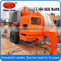 90KN Overhead Line Stringing Hydraulic Cable Hauling Machine