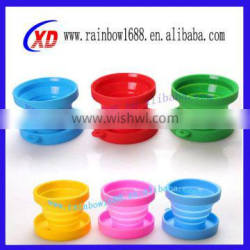 China Supplier Hot Selling 100% Food Grade Silicone Cup with Lid