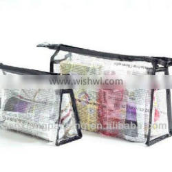 transparent stand up pouch with zipper