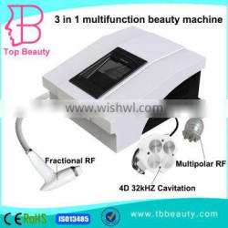 best portable fractional RF lipo cavitation cellulite reduction machine price