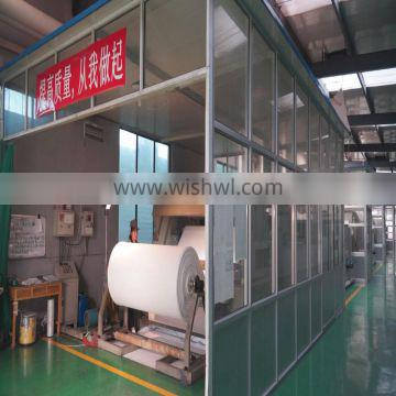 matte/semi/glossy polyester solvent wall fabric