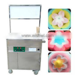 Easy processing flower cotton candy machine/cotton candy making machine