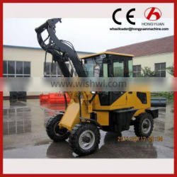 CE mini front wheel loader china