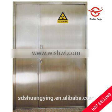 CE approved x-ray protective radiation lead sheilding door in CT room