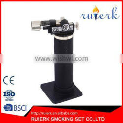 Portable Butane Gas Torch Lighters Blow Kitchen Chef Culinary For Cooking Welding Jet Flame Burner Camping EK-018