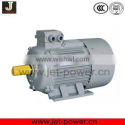single three phase electrical motor with 2 pole