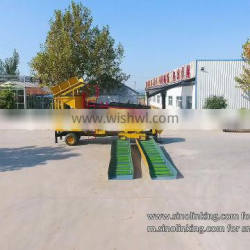 SINOLINKING small gold processing plant placer gold concentrate plant
