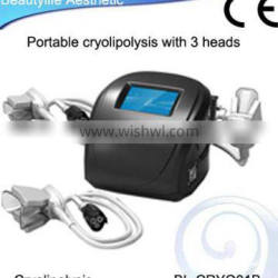 100% slimming effective cryolipolysis equipment remove fat