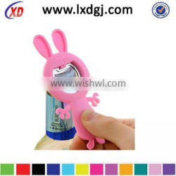 multifunctional lovely cute silicone bottle opener for promotion