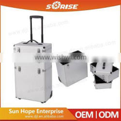 High Quality Luxury Vanity Trolley Cosmetic Case