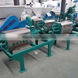 ISO 9001 standard Power and water saving cow dung dewatering machine