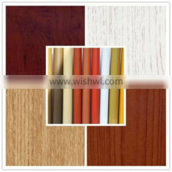 Size 0.12-0.5mm woodgrain door laminate sheet