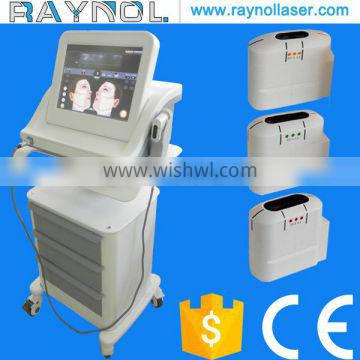 Raynol 15.4'' Color Touch Screen HIFU Laser Face Lifting Slimming Machine
