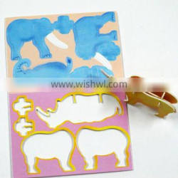 Printing logo jigsaw puzzle machine prices custom puzzle candle holder