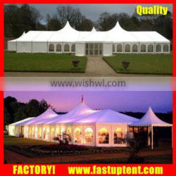 500 People Germany Large High Peak Mixed Wedding Marquee Party Tent
