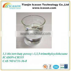 1 1-Bis(t-butyl peroxy)-3 3 5-Tri Methyl Cyclo Hexane used as heat curing agent of unsaturated polyester