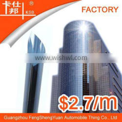 Great demand vivid color residential glass film with heat insulation