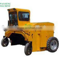 chicken / cow manure compost turning machine for sale