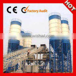 Hot sale conveyor type 50m3/h small concrete mixing plant on price