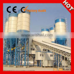 High Weighing Accuracy Stationary Concrete Mixing Plant for Sale